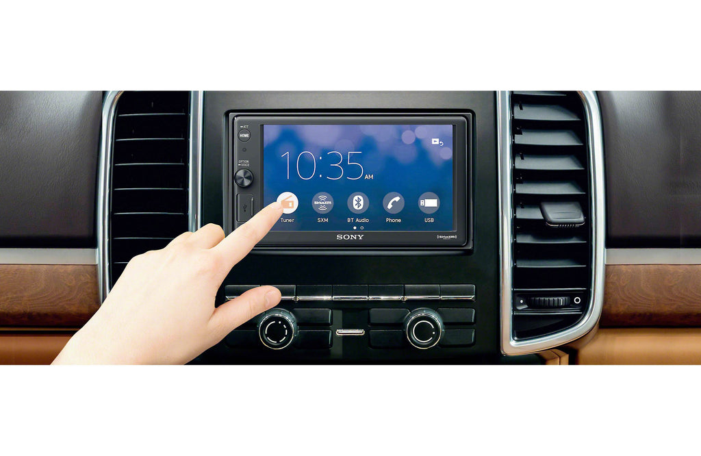 "Sony XAV-AX1000 6.2"" Apple CarPlay Media Receiver with Bluetooth - Freeman's Car Stereo"
