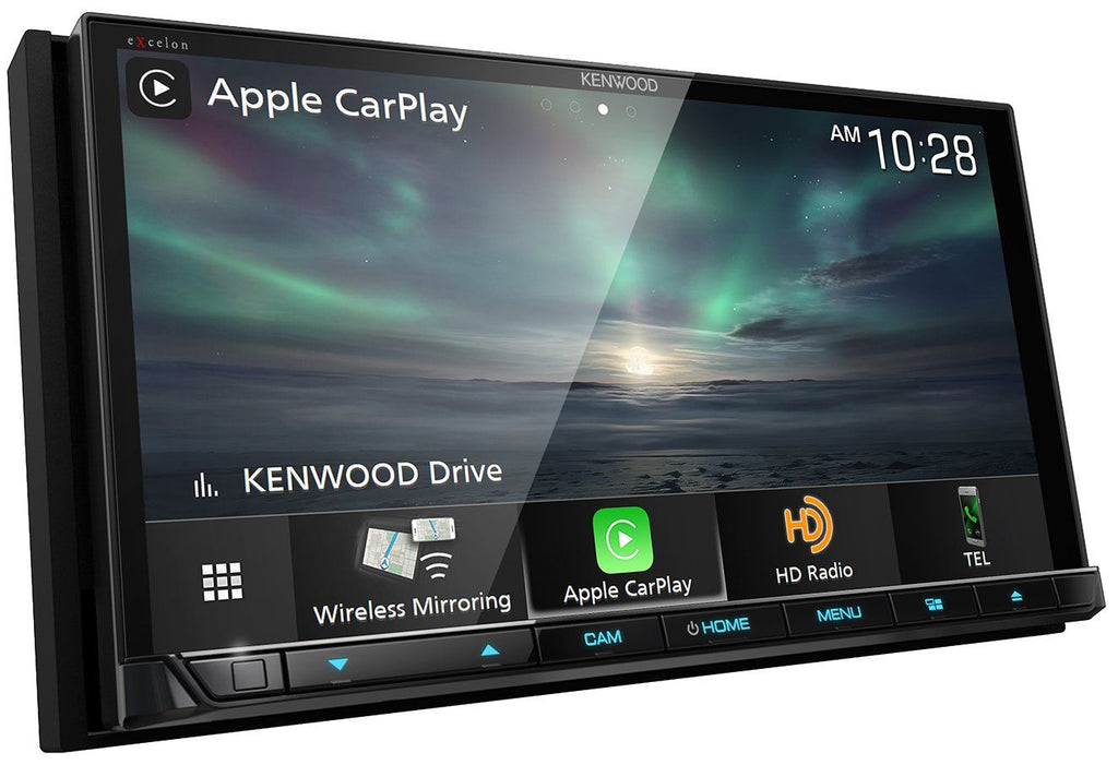 "Kenwood Excelon DDX8906S 6.95"" Wireless Apple CarPlay & Wireless Android Auto DVD Receiver"