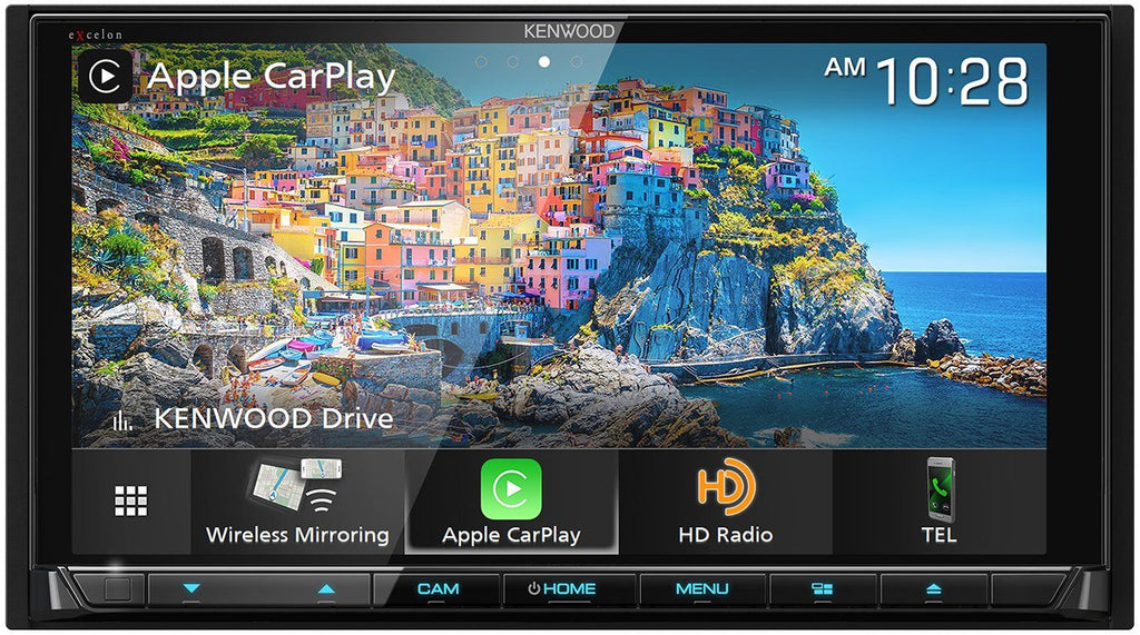 "Kenwood Excelon DDX9906XR 6.8"" HD Screen Apple CarPlay & Android Auto Receiver with DVD"