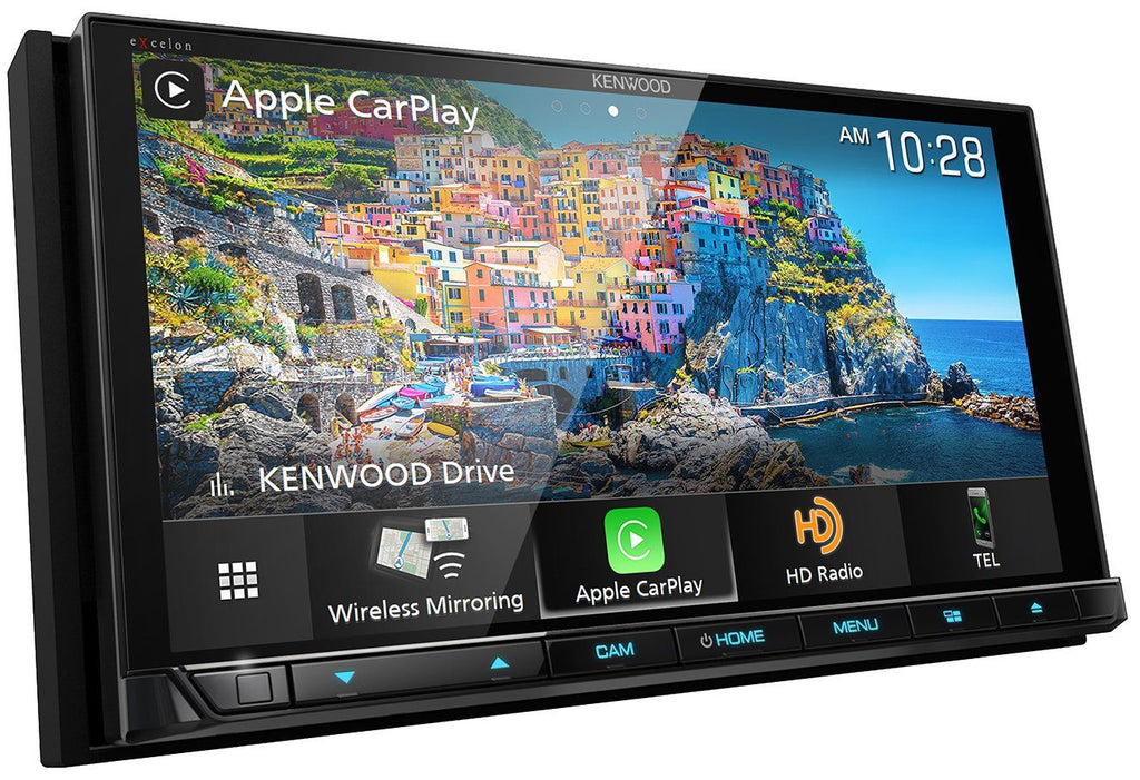 "Kenwood Excelon DDX9906XR 6.8"" HD Screen Apple CarPlay & Android Auto Receiver with DVD - Freeman's Car Stereo"