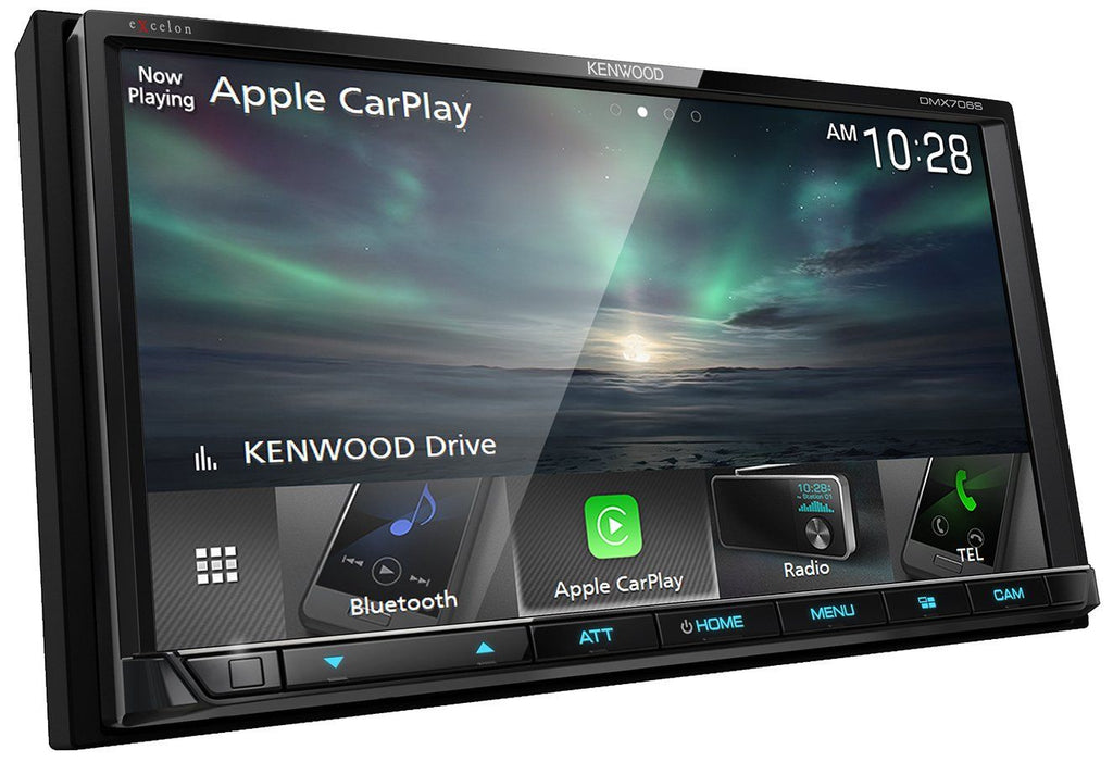 "Kenwood Excelon DMX706S 6.95"" Apple CarPlay & Android Auto Multimedia Receiver"
