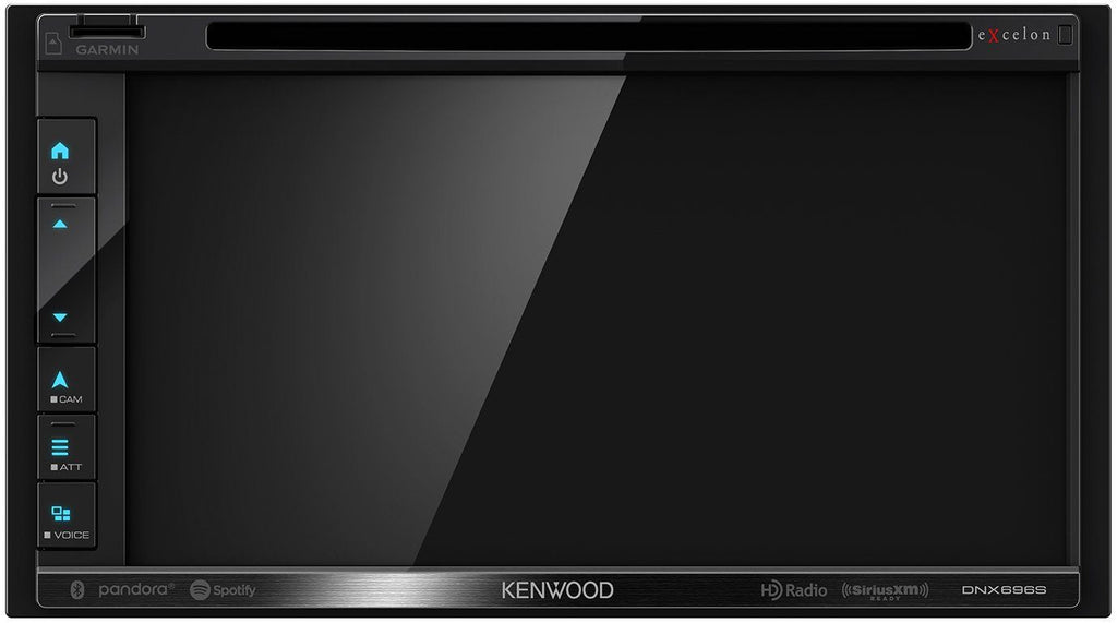 Kenwood Excelon DNX696S 6.8 Inch Apple CarPlay, Android Auto DVD Receiver with Navigation and Bluetooth - Freeman's Car Stereo