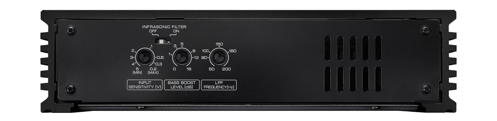 Kenwood eXcelon X502-1 Class D Mono Power 500W Amplifier - Freeman's Car Stereo