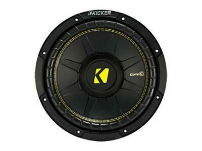 "Kicker 44CWCS104 CompC 10"" Subwoofer, Single Voice Coil, 4-Ohm, 250W - Freeman's Car Stereo"