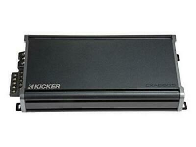 Kicker 46CXA660.5 CX Series 5-Channel Amplifier - 65 watts RMS x 4 at 4 ohms + 300 watts RMS x 1 at 2 - Freeman's Car Stereo