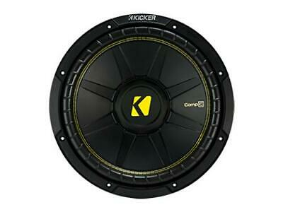 "Kicker 44CWCS124 CompC 12"" Subwoofer, Single Voice Coil, 4-Ohm, 300W - Freeman's Car Stereo"