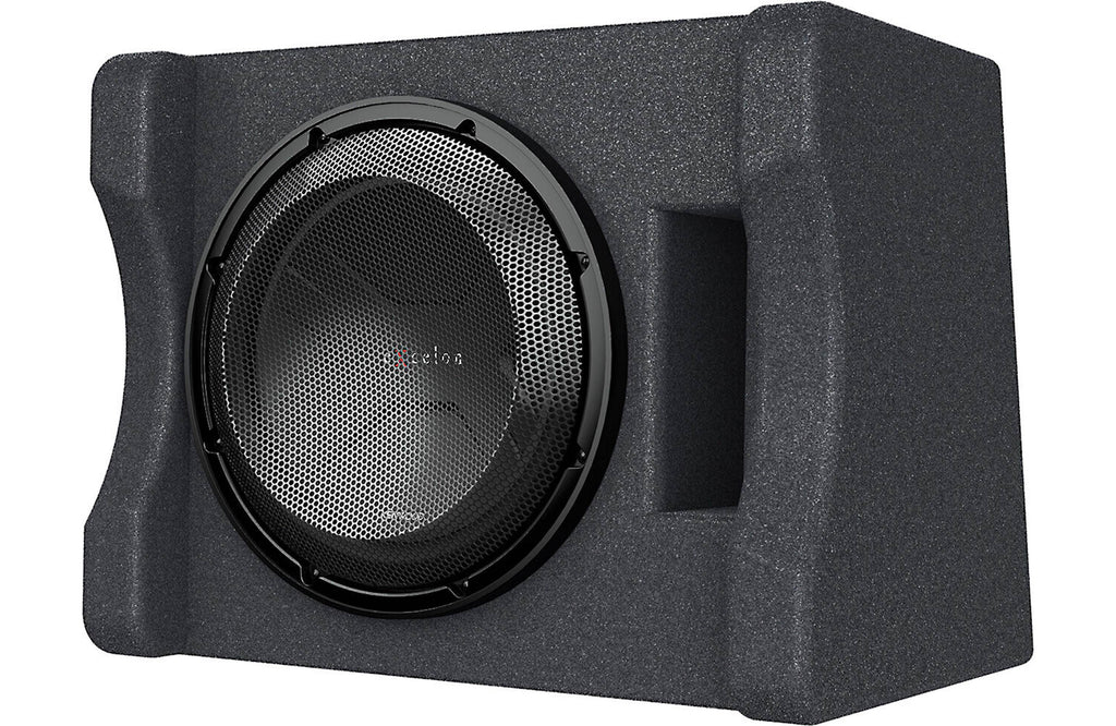 "Kenwood P-XW1241S Single 12"" Subwoofer Vented Enclosure, 300W RMS Power"