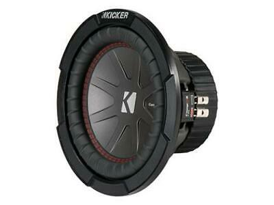Kicker 43CWR82 CompR 8-Inch Subwoofer, Dual Voice Coil, 2-Ohm, 300W