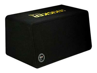 Kicker 44DCWC102 Dual CompC 10-inch Subwoofers in Vented Enclosure, 2-Ohm, 600W - Freeman's Car Stereo