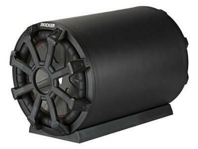 Kicker 46CWTB104 10-inch Subwoofer w/Passive Radiator; Weather-Proof Enclosure, 4-Ohm; RoHS Compliant - Freeman's Car Stereo