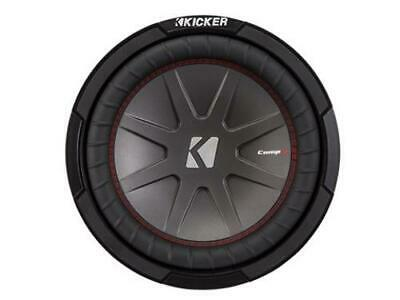 Kicker 43CWR102 CompR 10-Inch Subwoofer, Dual Voice Coil, 2-Ohm, 400W