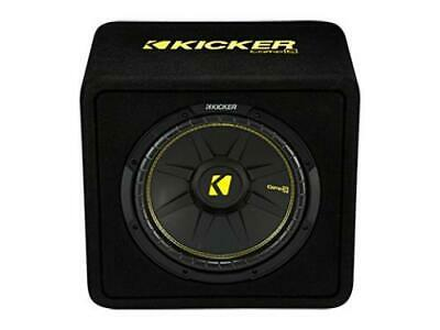 Kicker 44VCWC122 CompC 12-inch Subwoofer in Vented Enclosure, 2-Ohm, 300W - Freeman's Car Stereo