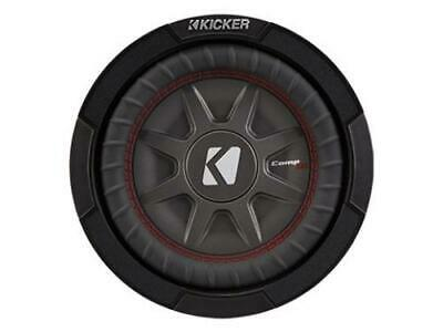 Kicker 43CWRT81 CompRT 8-Inch Subwoofer, Dual Voice Coil, 1-Ohm, 300W