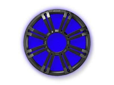 "Kicker 45KMG10C 10"" Grille For Kicker KM10 and KMF10 Subwoofers 2/Built-In LEDs - Charcoal - Freeman's Car Stereo"