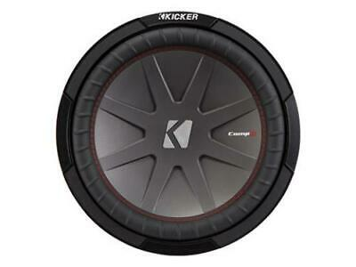 Kicker 43CWR122 CompR 12-Inch Subwoofer, Dual Voice Coil, 2-Ohm, 500W - Freeman's Car Stereo