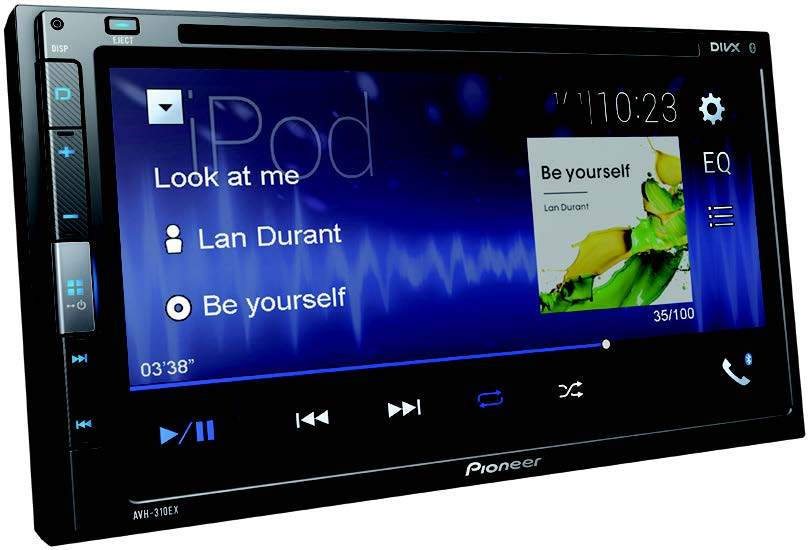"Pioneer AVH-310EX Multimedia DVD Receiver with 6.8"" WVGA Display"