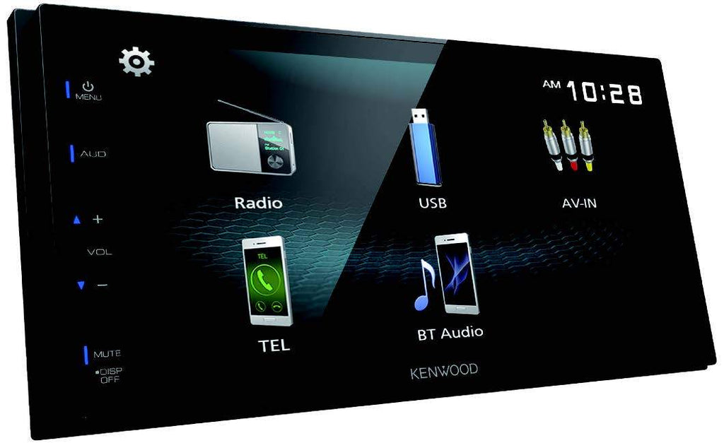 "Kenwood DMX125BT 6.8"" Digital Multimedia Receiver - Freeman's Car Stereo"