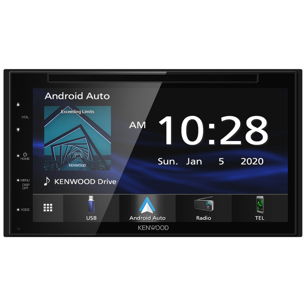 "Kenwood DDX5707S 6.8"" Apple CarPlay Navigation DVD Receiver with Bluetooth"
