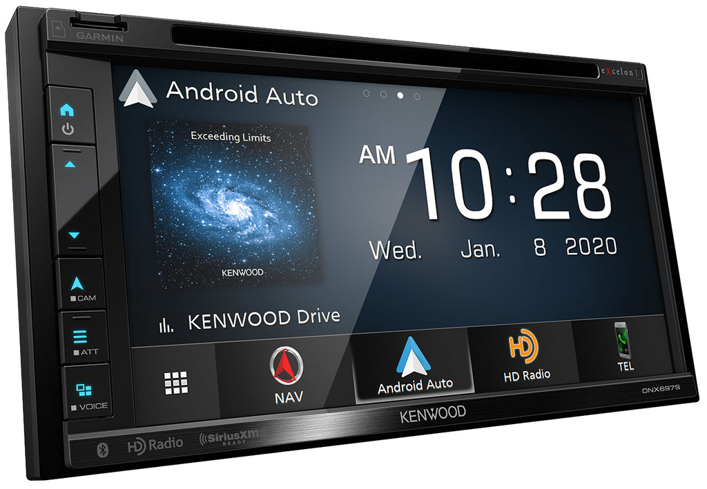 "Kenwood Excelon DNX697S - 6.8"" WVGA Navigation/DVD Receiver with Apple CarPlay & Android Auto Ready - Freeman's Car Stereo"
