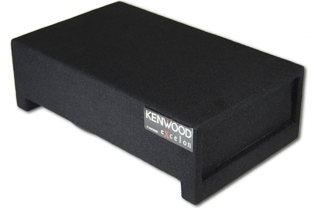 "Kenwood P-XW1001B 10"" Enclosure 4 ohm Shallow Woofer"