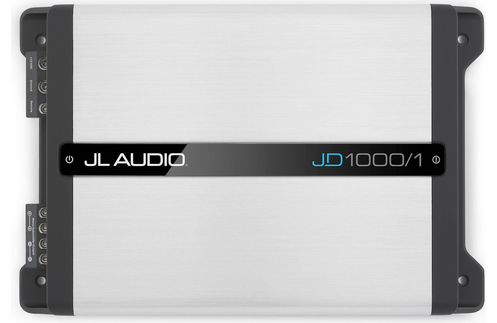 JL Audio JD1000/1 - Monoblock Class D Subwoofer Amplifier, 1000 W - Freeman's Car Stereo