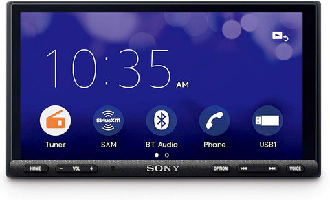 "Pioneer AVH-W4500NEX In-Dash Multimedia Receiver with 6.94"" WVGA Clear Resistive Touchscreen Display"
