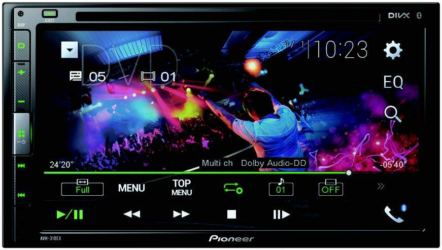"Pioneer AVH-310EX Multimedia DVD Receiver with 6.8"" WVGA Display - Freeman's Car Stereo"
