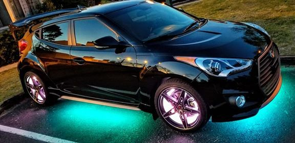 Racesport RSUKIT ColorADAPT® Adaptive RGB LED Underbody Kit