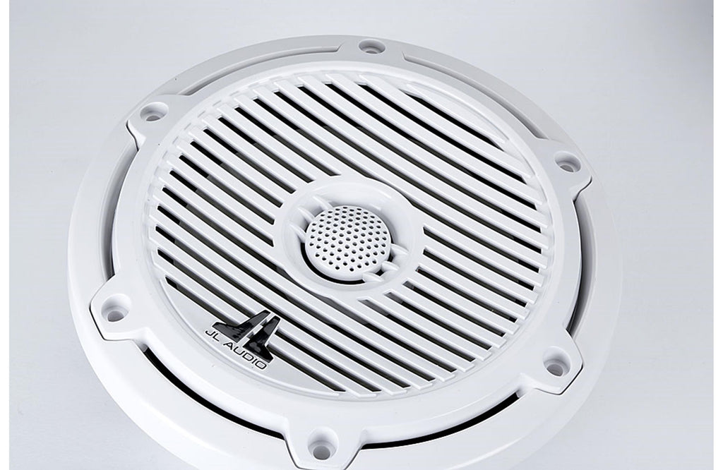 "JL Audio M650-CCX-CG-WH 6.5"" 70W RMS 2-Way Marine Coaxial Speakers"
