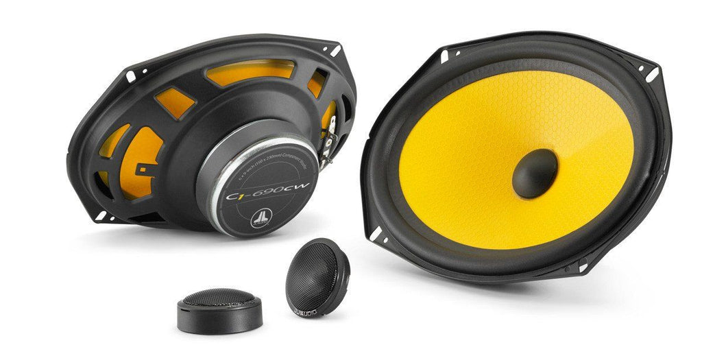 JL Audio C1-690: 6 x 9-inch (150 x 230 mm) 2-Way Component Speaker System - Freeman's Car Stereo