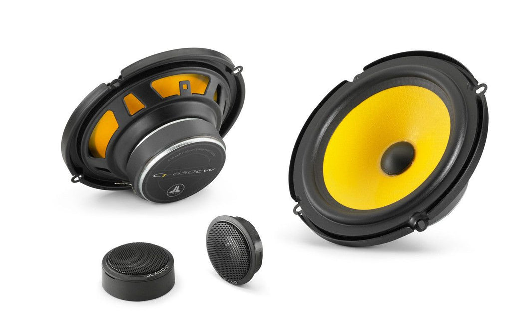JL Audio C1-650: 6.5-inch (165 mm) 2-Way Component Speaker System - Freeman's Car Stereo