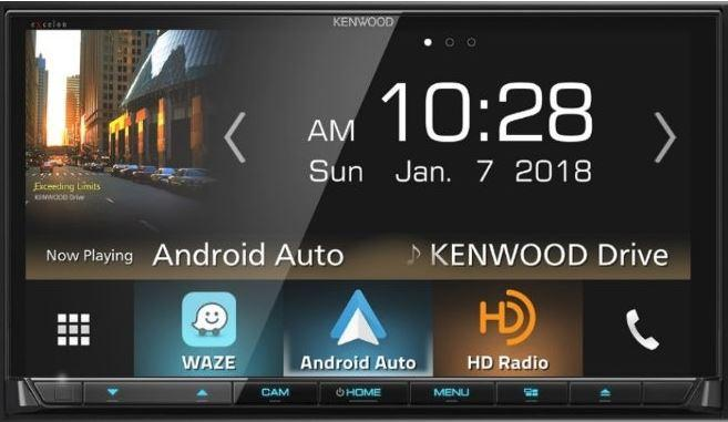 "Kenwood DDX8905s 6.95"" Hi-Res Audio, Apple CarPlay, Android Auto, Waze Ready, Bluetooth - Freeman's Car Stereo"