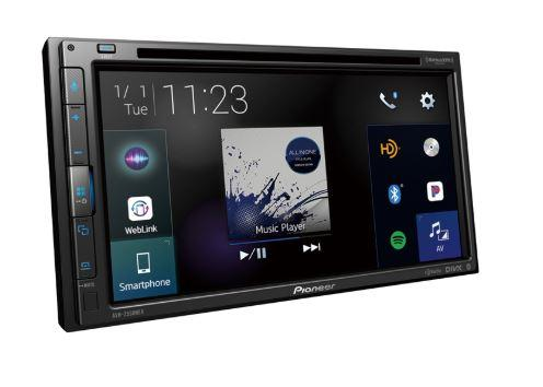 "Pioneer AVH-2550NEX Multimedia DVD Receiver with 6.8"" WVGA Display, Apple CarPlay, Android Auto - Freeman's Car Stereo"