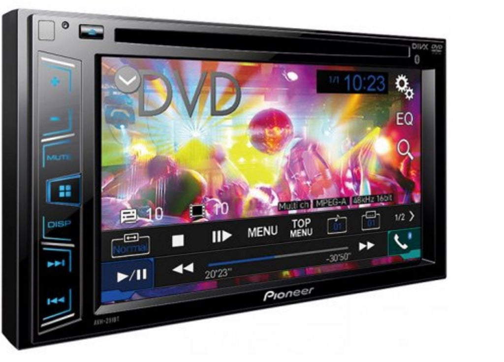 "Pioneer AVH 291BT In-dash DVD Receiver - 6.2"" Touch Display - Freeman's Car Stereo"
