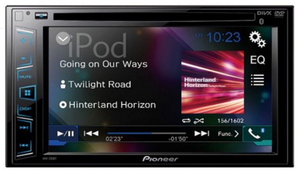 Pioneer AVH-291BT - Multimedia Bluetooth DVD Receiver