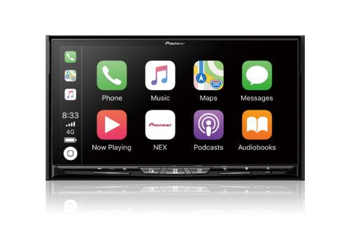 Pioneer AVIC-W8500NEX Navigation Receiver with 6.94˝ WVGA Capacitive Touchscreen Display - Freeman's Car Stereo