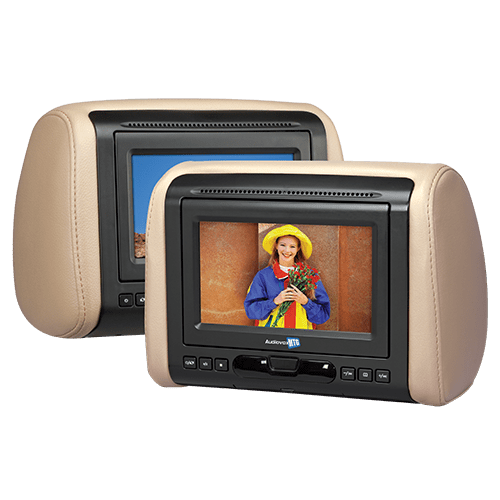 Audiovox AVXMTGHR1DA - 7 inch headrest monitor with built-in DVD player - Freeman's Car Stereo
