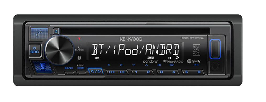 Kenwood KDC-BT275U - Freeman's Car Stereo