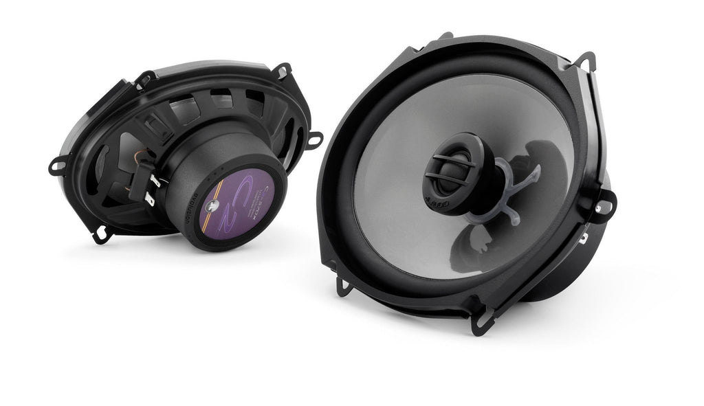 JL Audio C2-570X - 5x7 2-Way Coaxial Car Audio Speakers - Freeman's Car Stereo