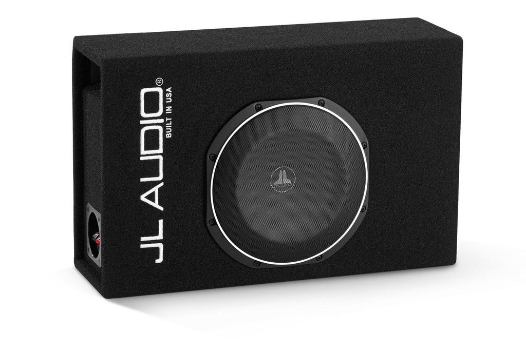 JL AUDIO CP110LG-TW1-2 - Single 10TW1 MicroSub, Ported, 2 Ω - Freeman's Car Stereo