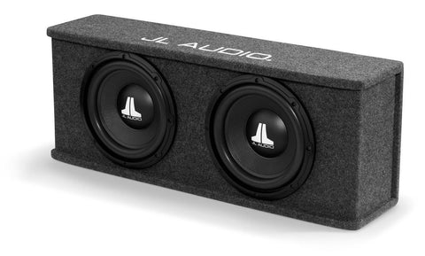 JL AUDIO CP110-W0v3 - Single 10W0v3 BassWedge, Ported, 4 Ω