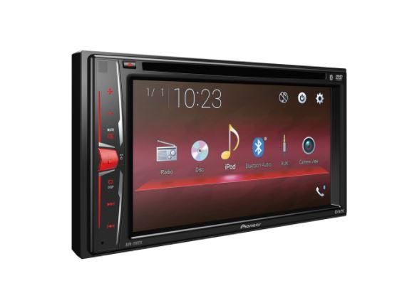 "Pioneer AVH-201EX Multimedia DVD Receiver with 6.2"" WVGA Display, Built-in Bluetooth® and Remote Control Included - Freeman's Car Stereo"