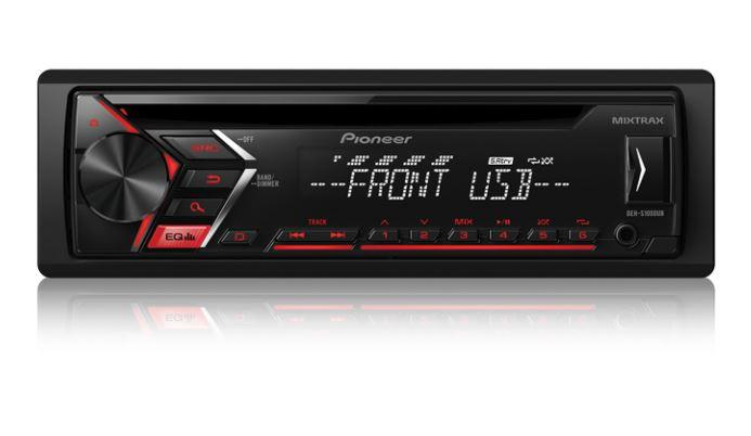 Pioneer DEH-S1000UB - CD Receiver - Freeman's Car Stereo