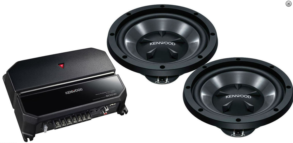 KENWOOD PW1021 Bass Package - Freeman's Car Stereo