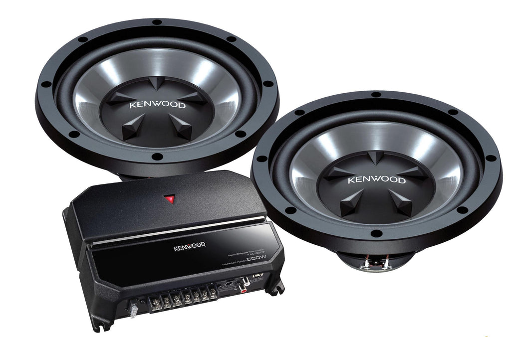 KENWOOD PW1221 Bass Package - Freeman's Car Stereo