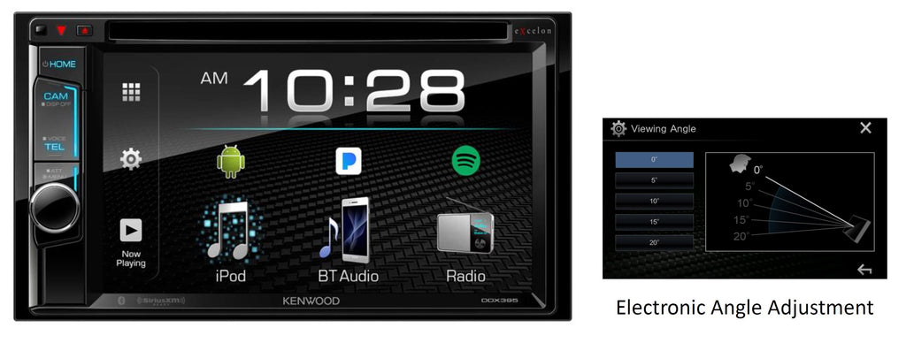 "Kenwood DDX395 6.2"" Multimedia Receiver - Freeman's Car Stereo"