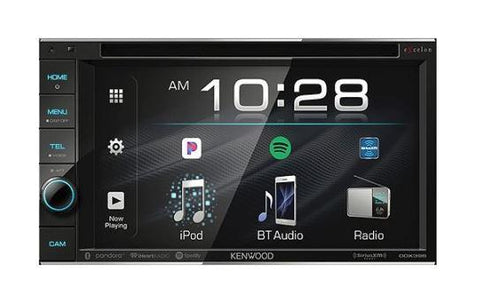 "Kenwood DMX7705S 6.95"" Digital Multimedia Receiver Android Auto & Apple CarPlay Ready"