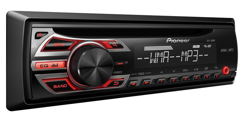 Pioneer DEH-150MP - 1-Din CD Receiver - Freeman's Car Stereo