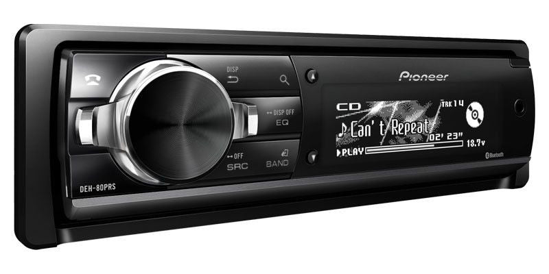 Pioneer DEH-80PRS - 1-Din CD Receiver - Freeman's Car Stereo