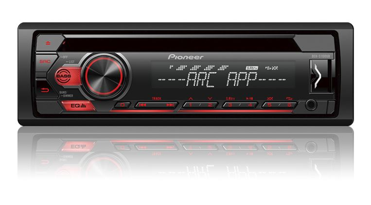 Pioneer DEH-S1100UB CD Receiver with Pioneer ARC App and USB Control - Freeman's Car Stereo